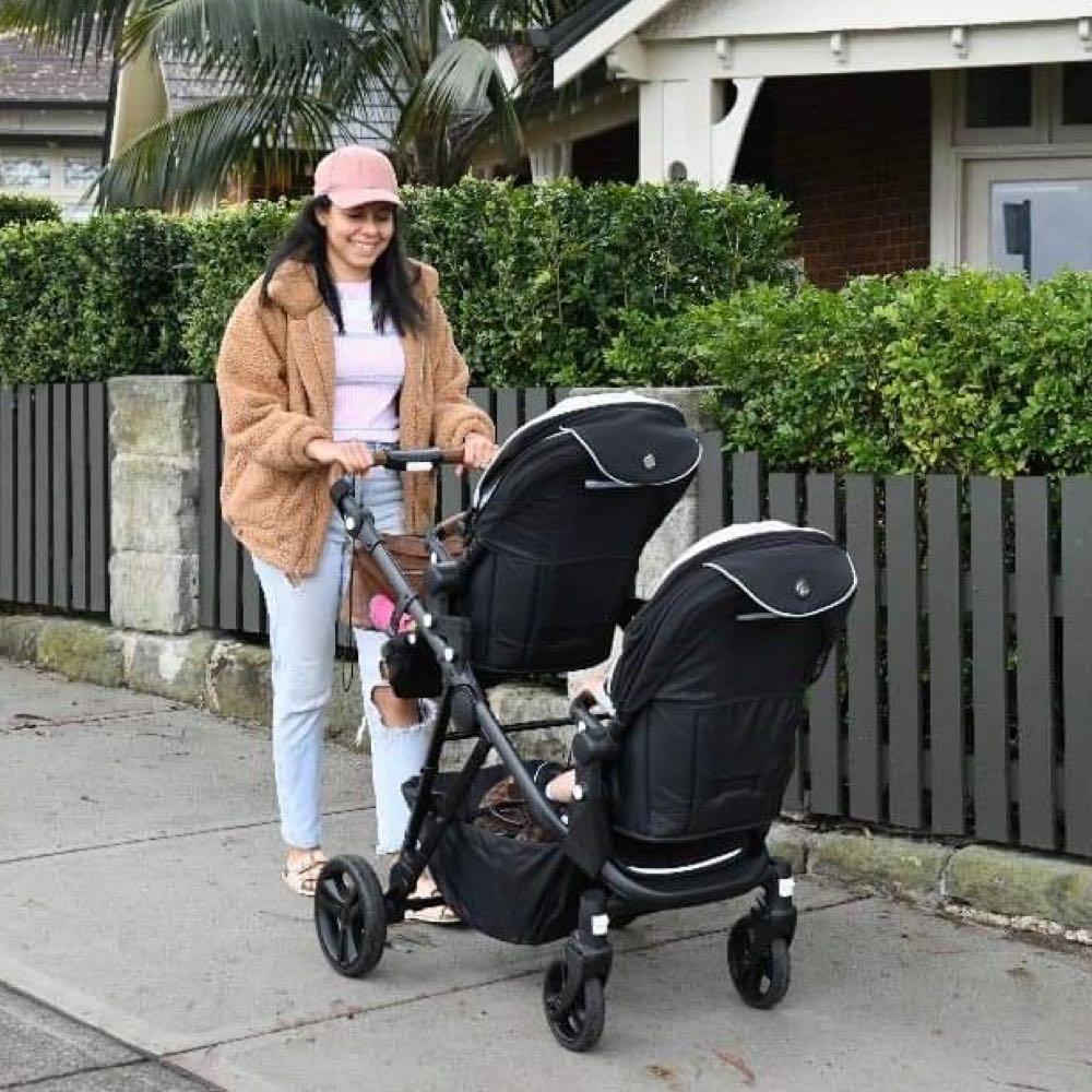 Lusso double prams baby prams in Australia